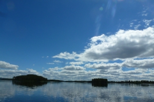 Nachmittags auf dem Venjansjön