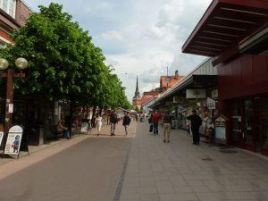 Fußgängerzone in Mora