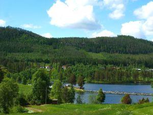Lachszuchtanstalt in Älvdalen