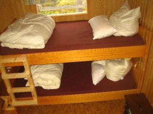 Unser Stockbett im Gästehaus